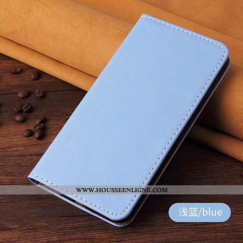 Étui Honor 20 Pro Cuir Bleu Housse Coque Téléphone Portable