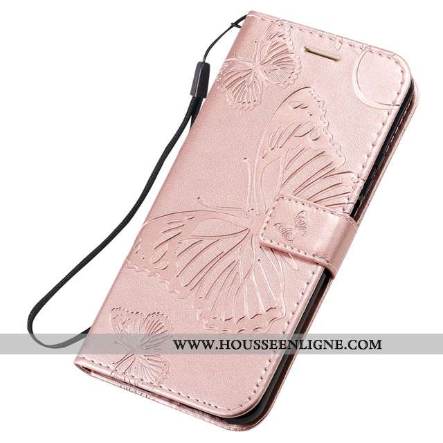 Étui Honor 20 Pro Fluide Doux Silicone Cuir Clamshell Rose Protection