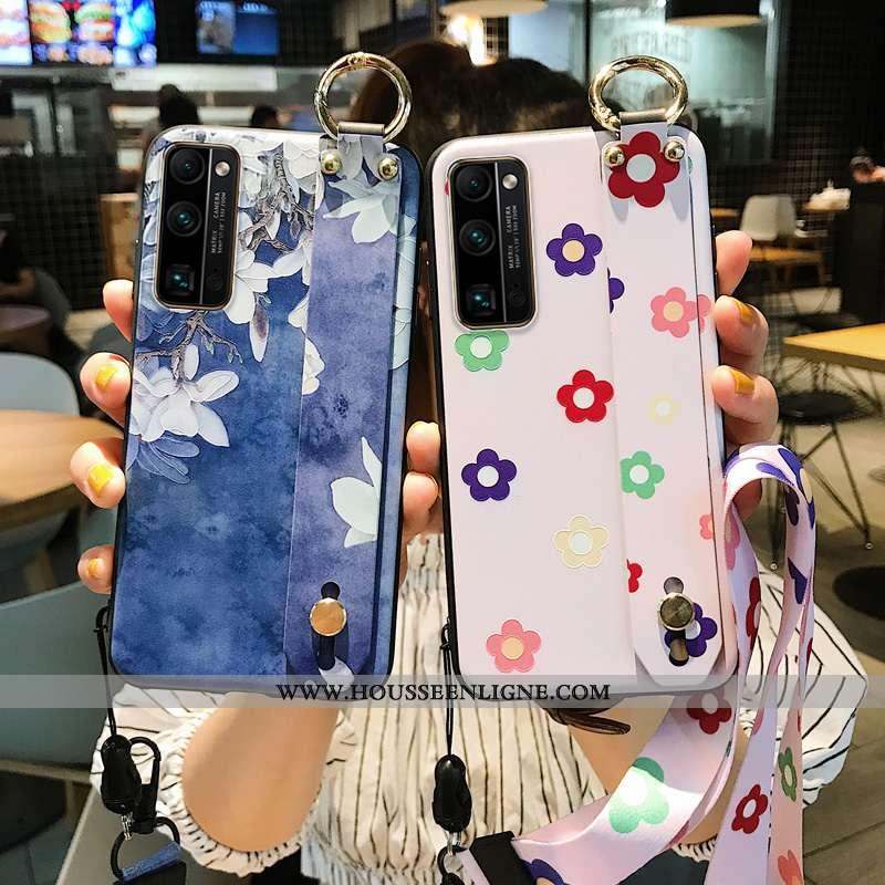 Étui Honor 30 Pro Protection Personnalité Net Rouge Fluide Doux Téléphone Portable Créatif Style Chi