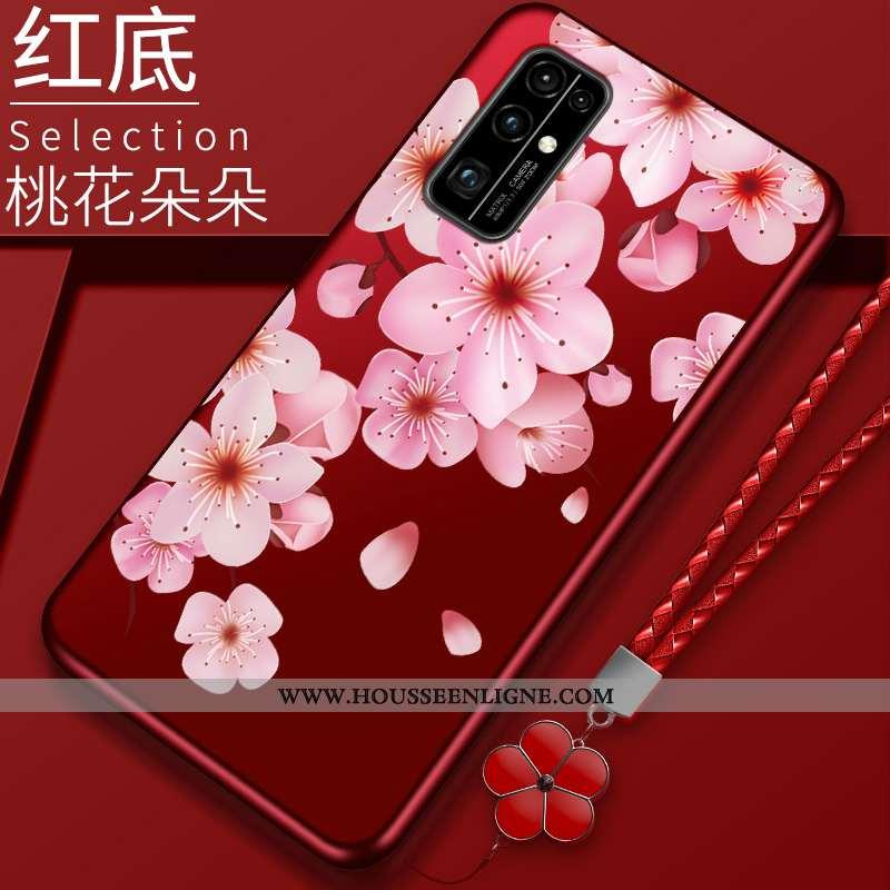 Étui Honor 30 Protection Rouge Téléphone Portable Coque