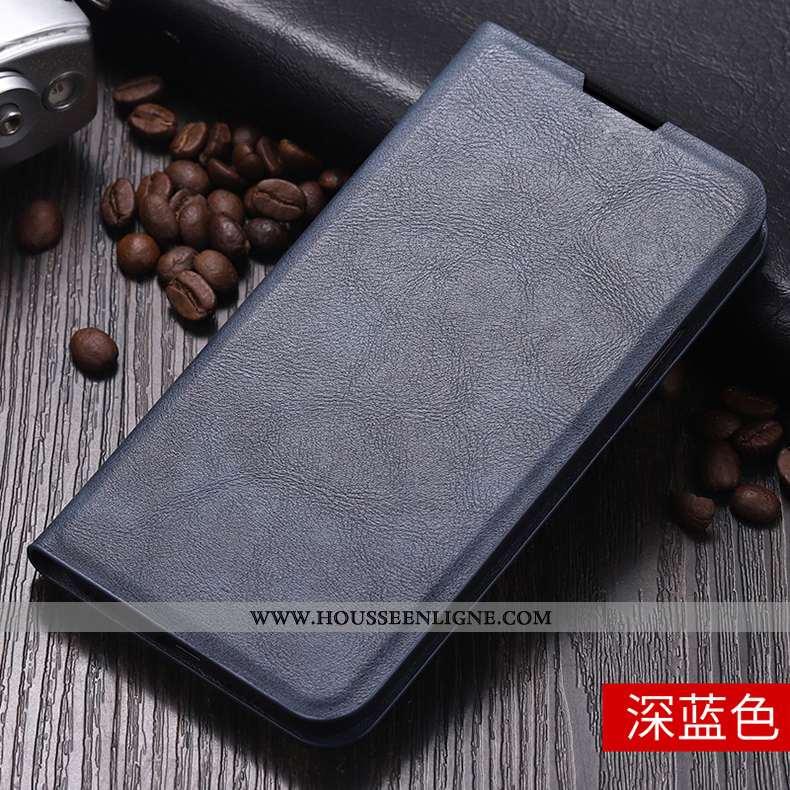 Étui Honor 30 Protection Tendance Coque Téléphone Portable Incassable Business Clamshell Bleu Foncé