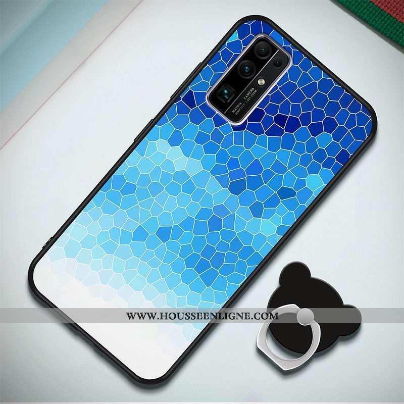 Étui Honor 30 Silicone Protection Nouveau Incassable Coque Fluide Doux Bleu Foncé