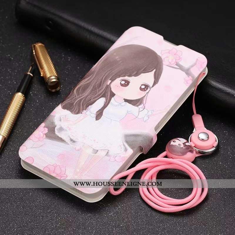 Étui Honor 30s Protection Tendance Téléphone Portable Clamshell Rose Cuir