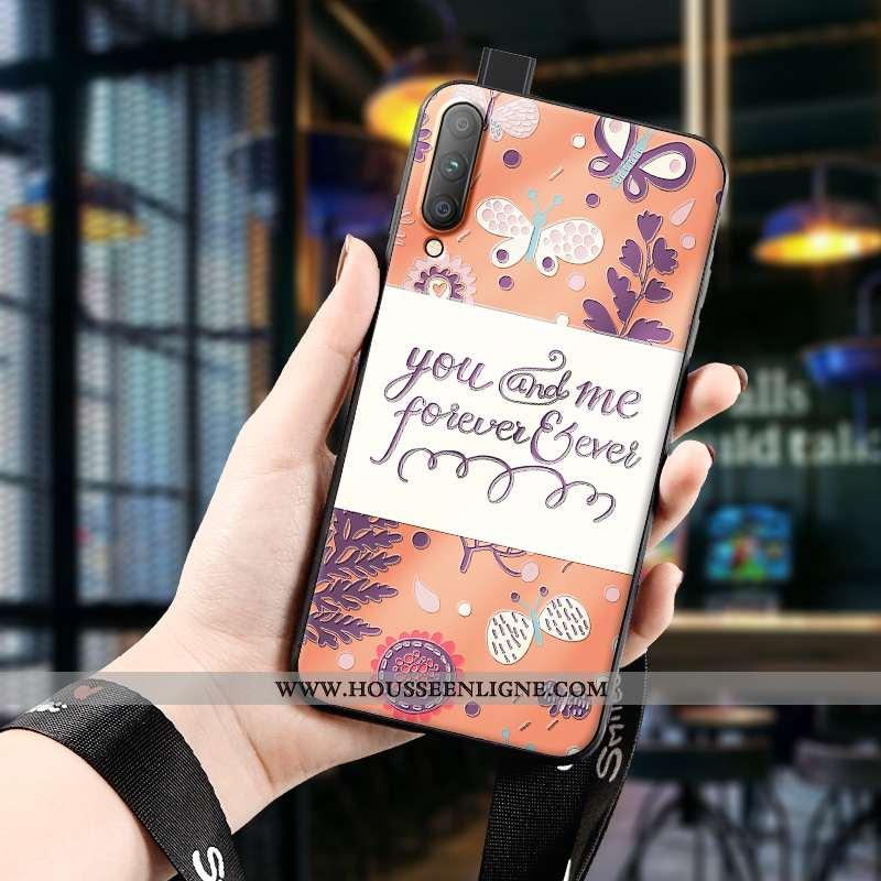 Étui Honor 9x Pro Personnalité Créatif Silicone Orange Téléphone Portable Jeunesse Délavé En Daim