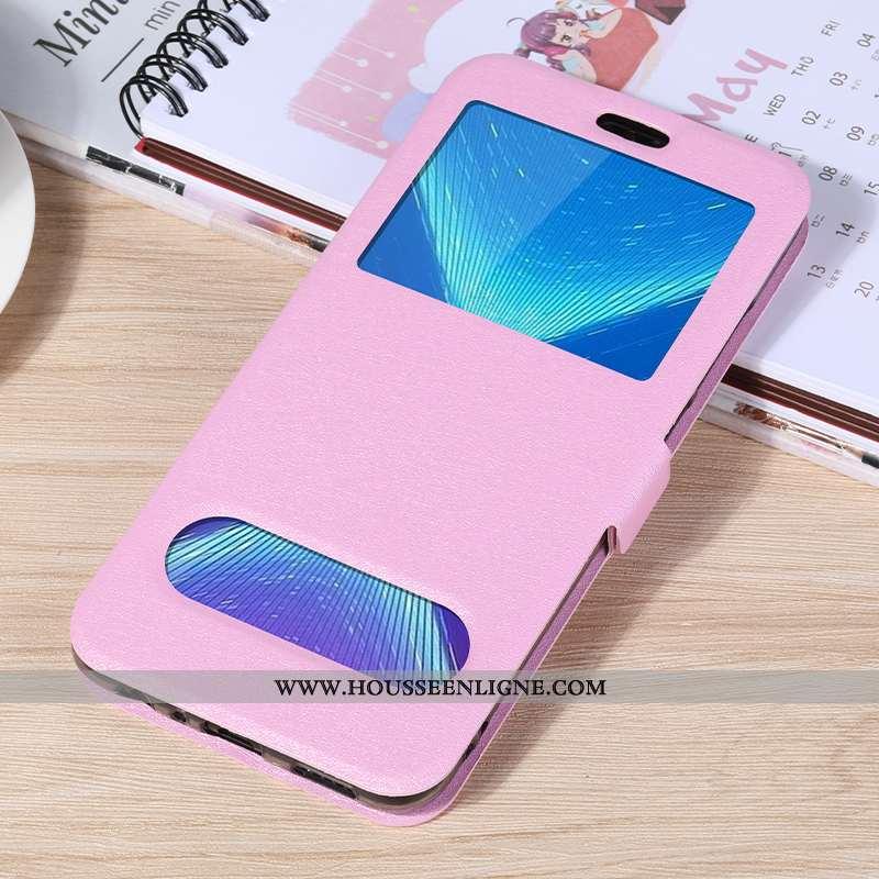 Étui Honor 9x Silicone Protection Clamshell Rose Téléphone Portable Coque Incassable