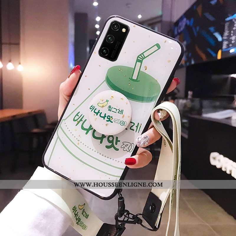 Étui Honor View30 Pro Créatif Tendance Personnalité Protection Vert Téléphone Portable Tout Compris