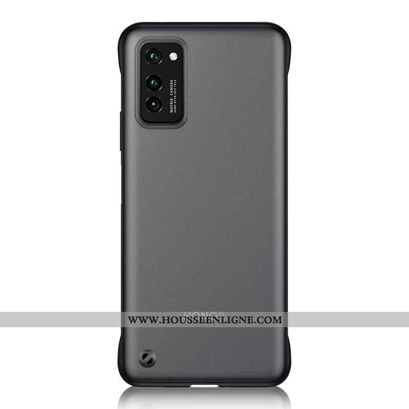 Étui Honor View30 Pro Délavé En Daim Ornements Suspendus Net Rouge Ultra Coque Téléphone Portable Mo