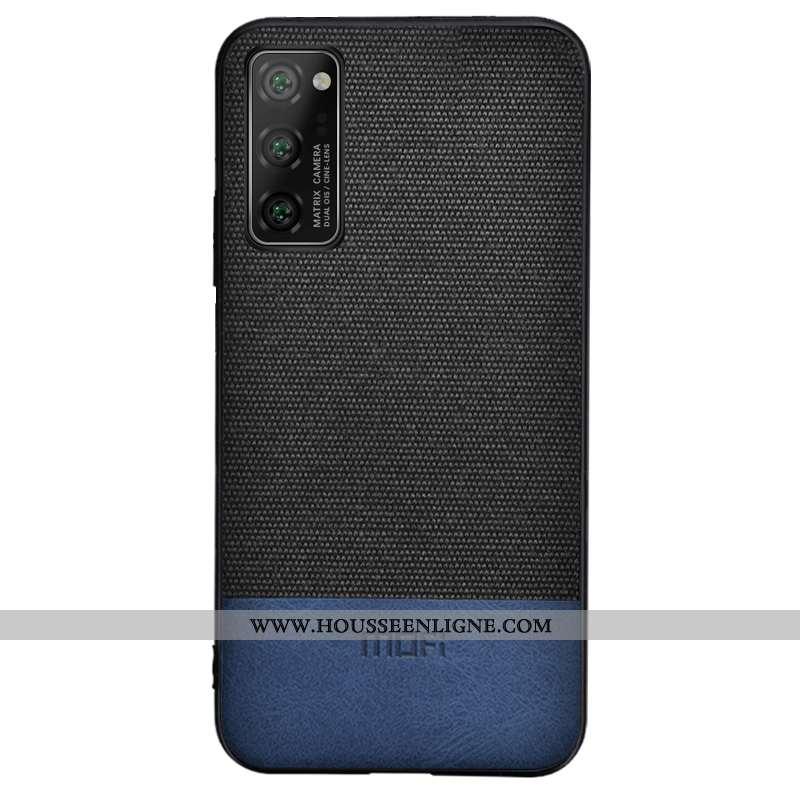 Étui Honor View30 Pro Protection Silicone Coque Téléphone Portable Tissu Noir