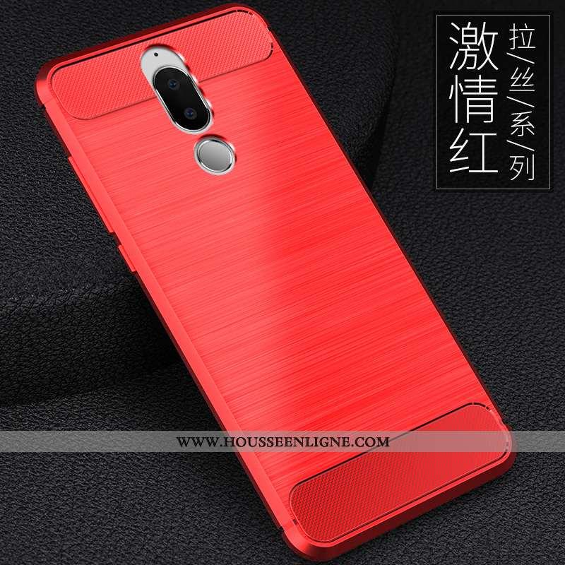 Étui Huawei Mate 10 Lite Tendance Légère Élégant Téléphone Portable Créatif Silicone Nouveau Rouge