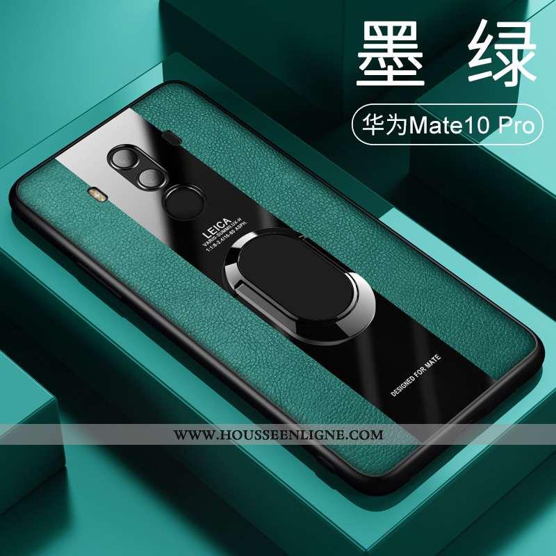 Étui Huawei Mate 10 Pro Tendance Légère Créatif Incassable Magnétisme Tout Compris Net Rouge Verte
