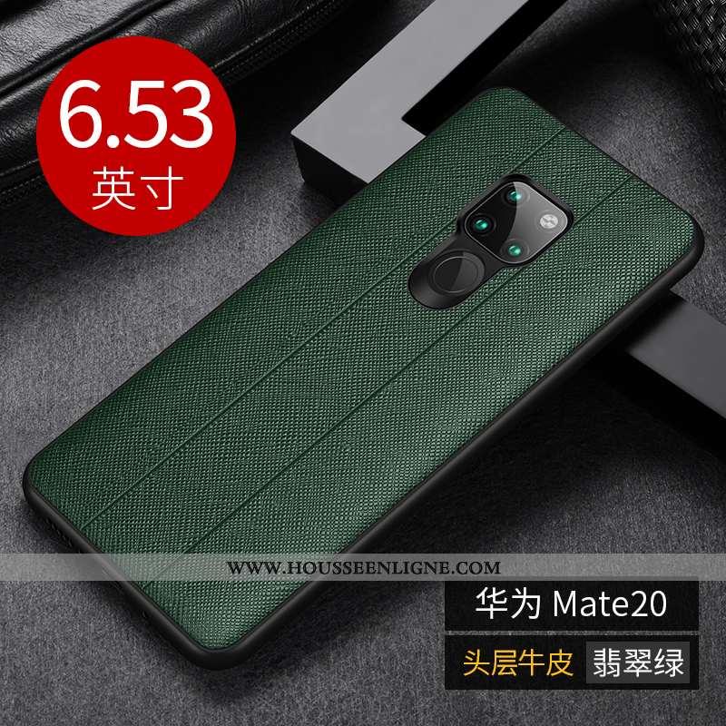 Étui Huawei Mate 20 Légère Protection Ultra Nouveau Vert Coque Verte