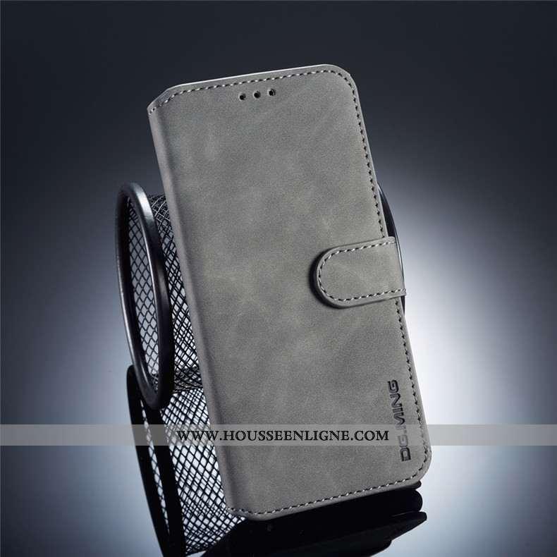 Étui Huawei Mate 20 Lite Cuir Protection Tout Compris Jeunesse Gris Clamshell