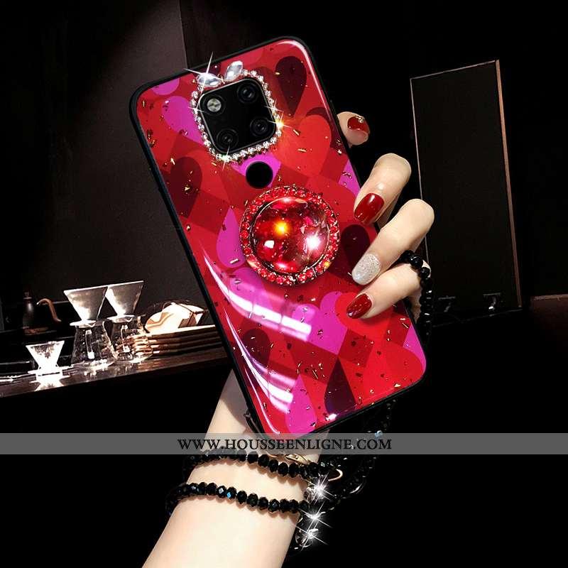 Étui Huawei Mate 20 Mode Tendance Net Rouge Coque Téléphone Portable Rouge Silicone