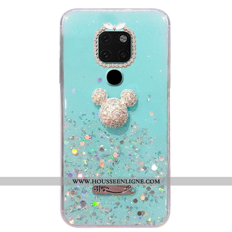 Étui Huawei Mate 20 Personnalité Tendance Tout Compris Protection Téléphone Portable Mode Strass Ble