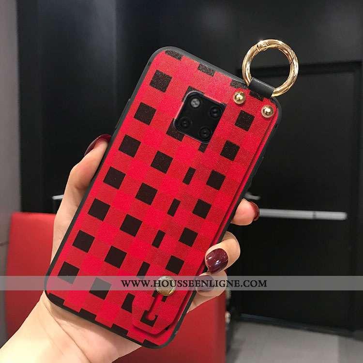 Étui Huawei Mate 20 Pro Créatif Tendance Téléphone Portable Personnalité Rouge Coque