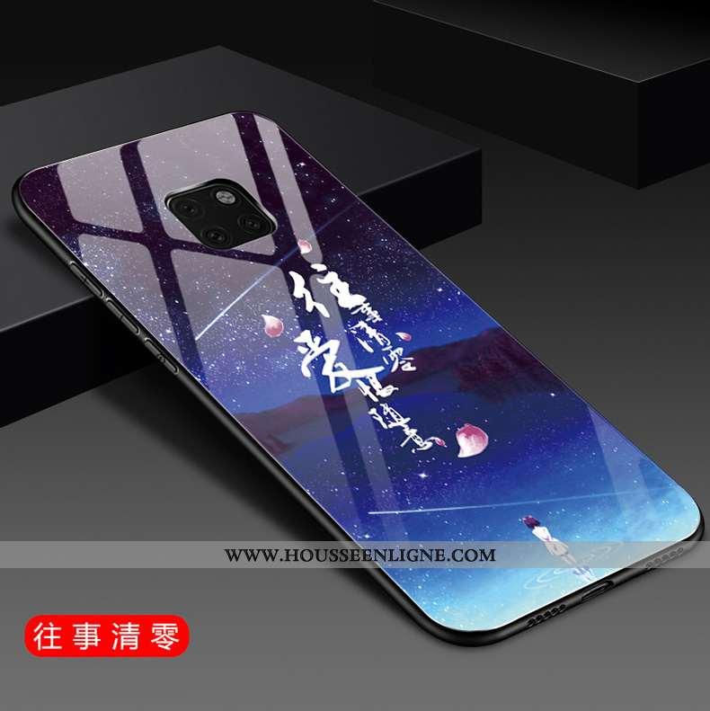 Étui Huawei Mate 20 Pro Mode Protection Difficile Téléphone Portable Net Rouge Silicone Tendance Ble