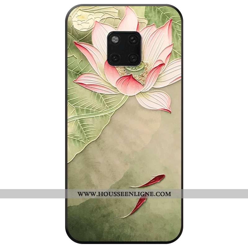 Étui Huawei Mate 20 Pro Protection Personnalité Frais Téléphone Portable Mode Vert Verte