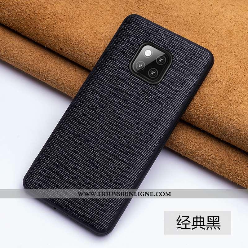 Étui Huawei Mate 20 Rs Créatif Cuir Véritable Coque Personnalité Tendance Téléphone Portable Incassa