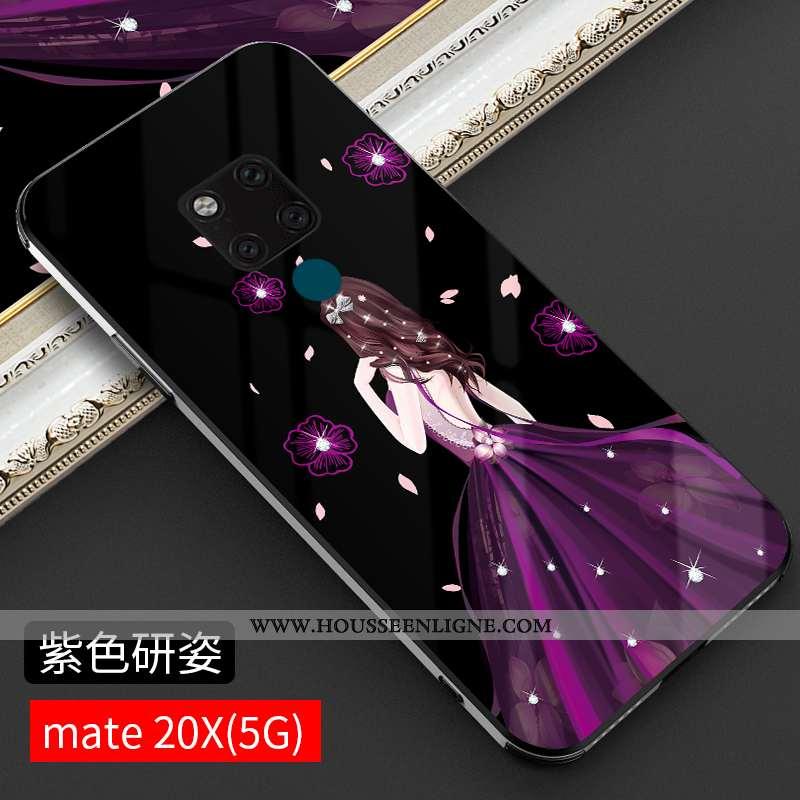 Étui Huawei Mate 20 Ultra Tendance Incassable Coque Nouveau Légère Téléphone Portable Violet
