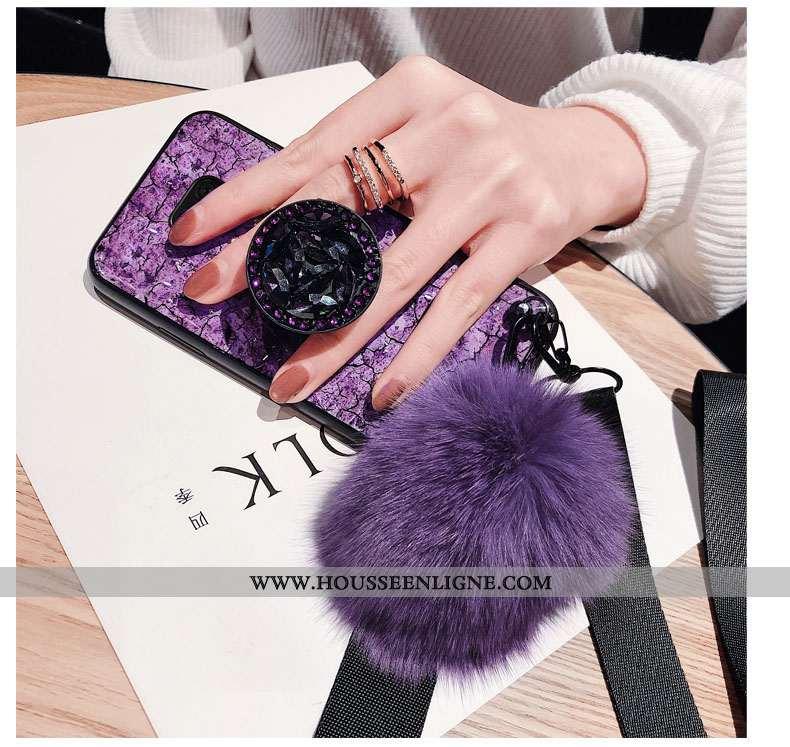 Étui Huawei Mate 20 X Protection Personnalité Téléphone Portable Coque Violet