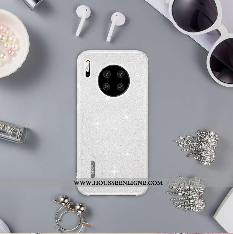 Étui Huawei Mate 30 Pro Créatif Ultra Tout Compris Mode Net Rouge Vent Téléphone Portable Blanche