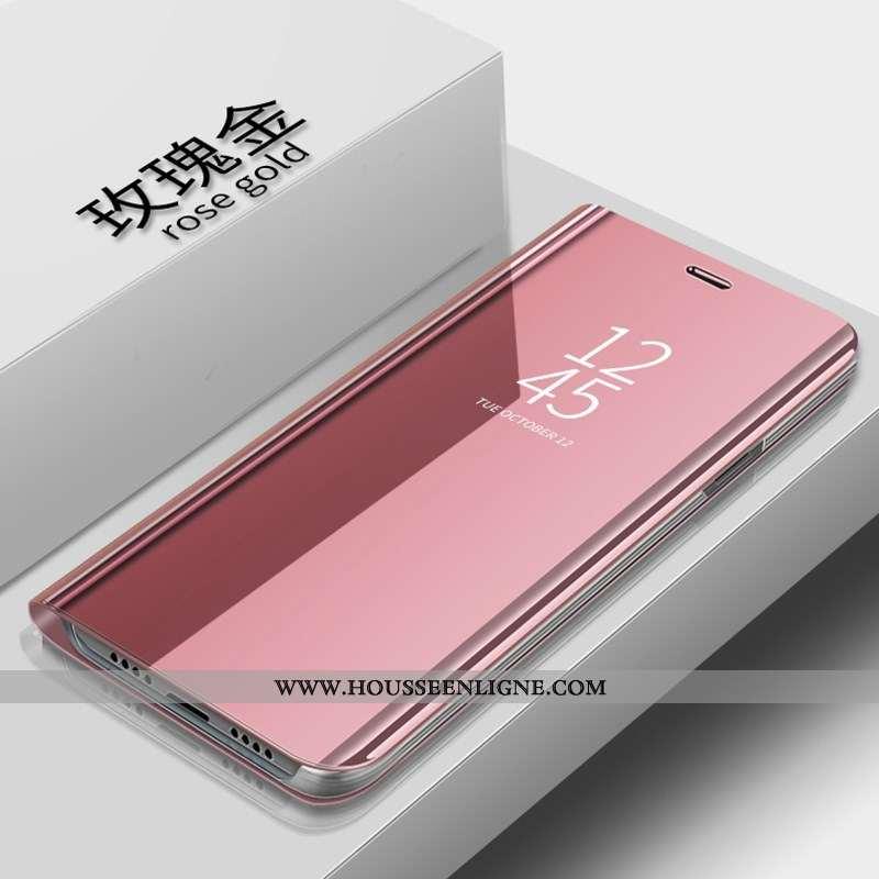 Étui Huawei P Smart 2020 Cuir Téléphone Portable Housse Coque 2020 Rose