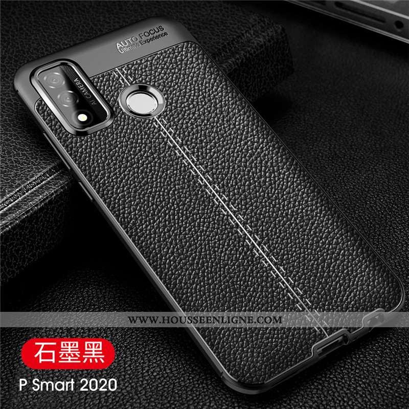 Étui Huawei P Smart 2020 Légère Protection Tout Compris Téléphone Portable Coque Légères Noir