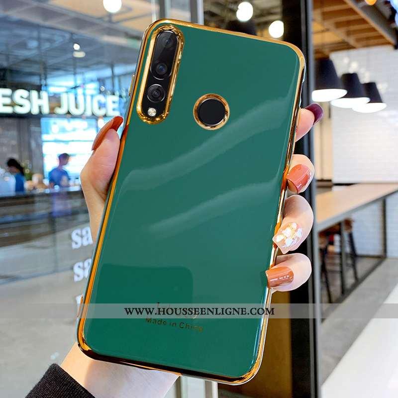 Étui Huawei P Smart+ 2020 Protection Personnalité Tendance Net Rouge Vert Silicone Coque Turquoise
