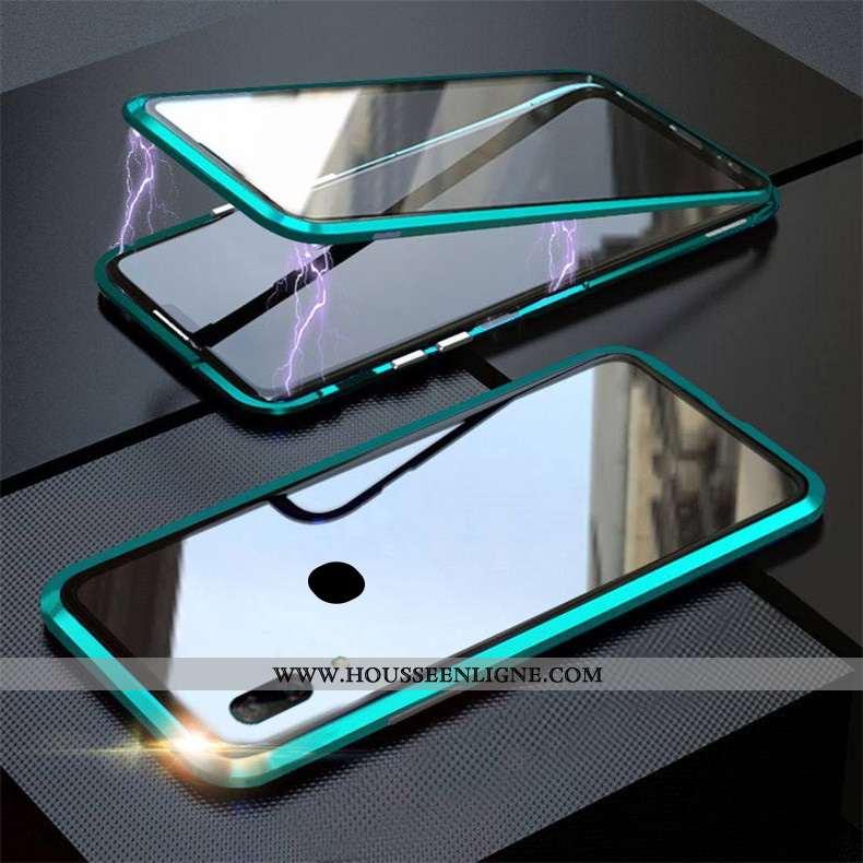 Étui Huawei P Smart Z Verre Vert 2020 Coque Téléphone Portable Reversible Turquoise
