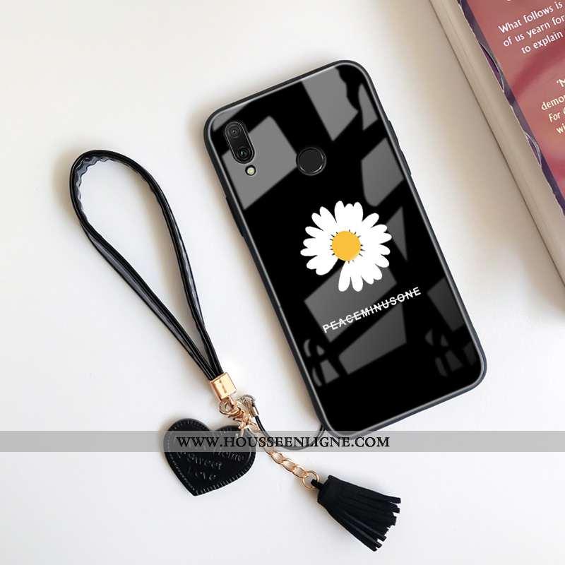 Étui Huawei P20 Lite Dessin Animé Charmant Dragon Noir Personnalité Téléphone Portable