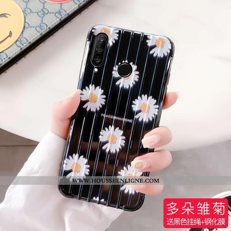 Étui Huawei P30 Lite Créatif Tendance Tout Compris Amoureux Téléphone Portable Personnalité Noir