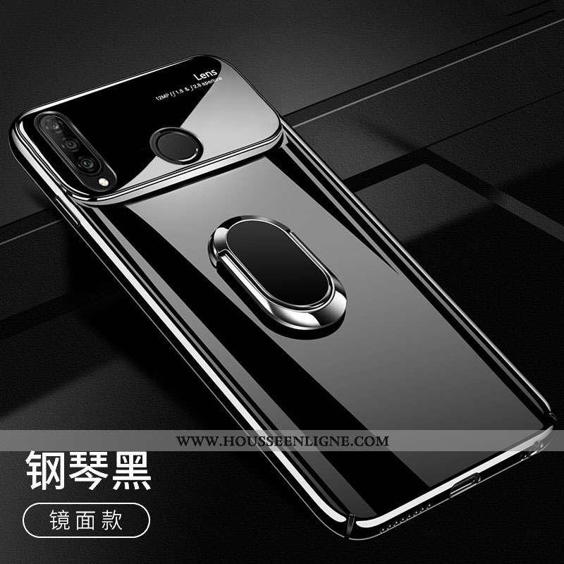 Étui Huawei P30 Lite Xl Légère Protection Miroir Tendance Noir Ultra