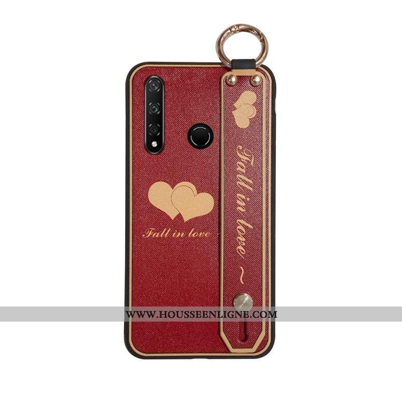 Étui Huawei P30 Lite Xl Silicone Protection Délavé En Daim Coque Tout Compris Créatif Ornements Susp