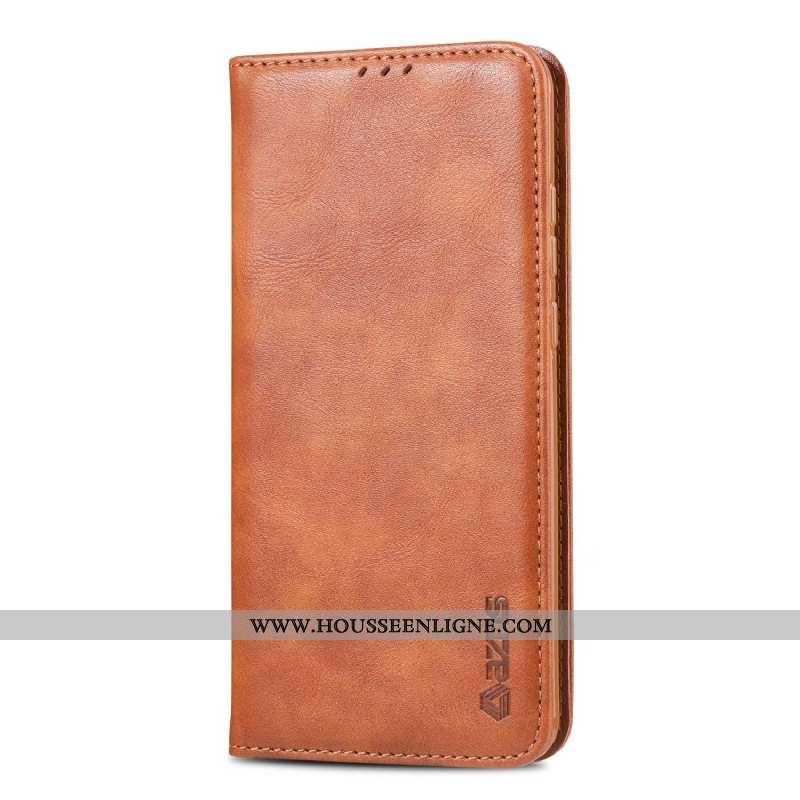 Étui Huawei P30 Pro Cuir Véritable Protection Téléphone Portable Tout Compris Carte Incassable Marro
