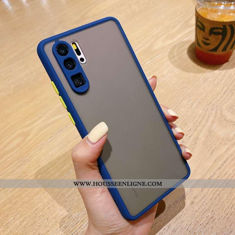Étui Huawei P30 Pro Fluide Doux Silicone Téléphone Portable Mode Tendance Délavé En Daim Tout Compri