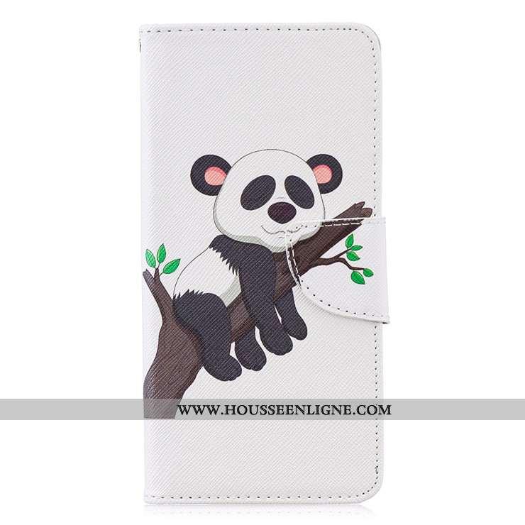 Étui Huawei P30 Pro Protection Dessin Animé Coque Tout Compris Cuir Téléphone Portable Noir