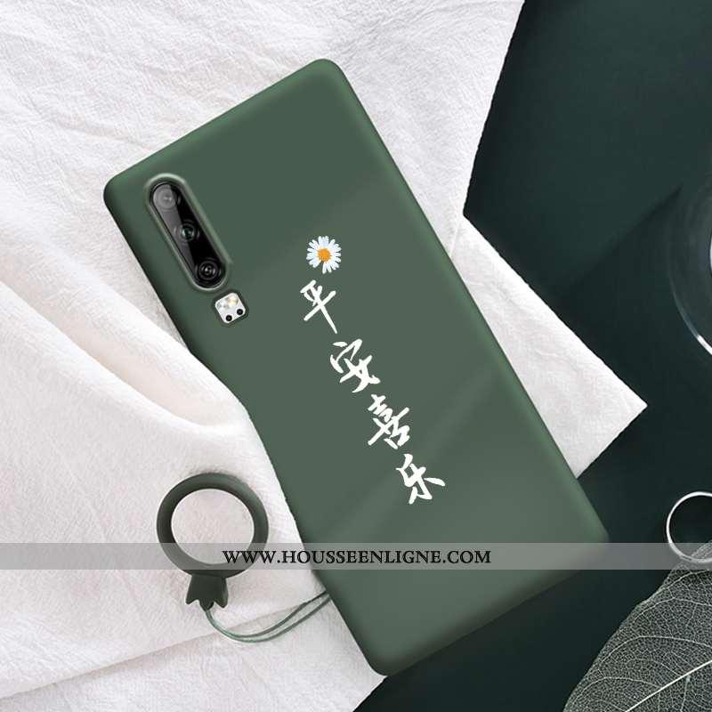 Étui Huawei P30 Protection Fluide Doux Silicone Coque Téléphone Portable Nouveau Petite Marguerite V