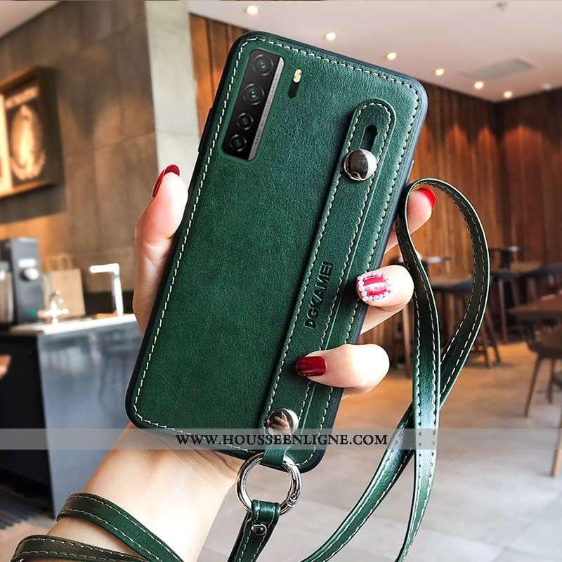 Étui Huawei P40 Lite 5g Créatif Silicone Tout Compris Net Rouge Nouveau Support Incassable Verte