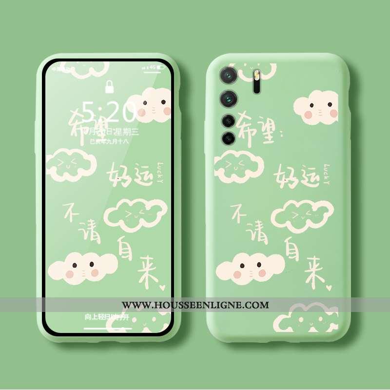 Étui Huawei P40 Lite 5g Personnalité Créatif Téléphone Portable Tout Compris Net Rouge Simple Coque