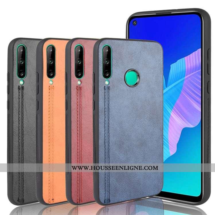 Étui Huawei P40 Lite E Tendance Cuir Difficile Gris Tout Compris Téléphone Portable