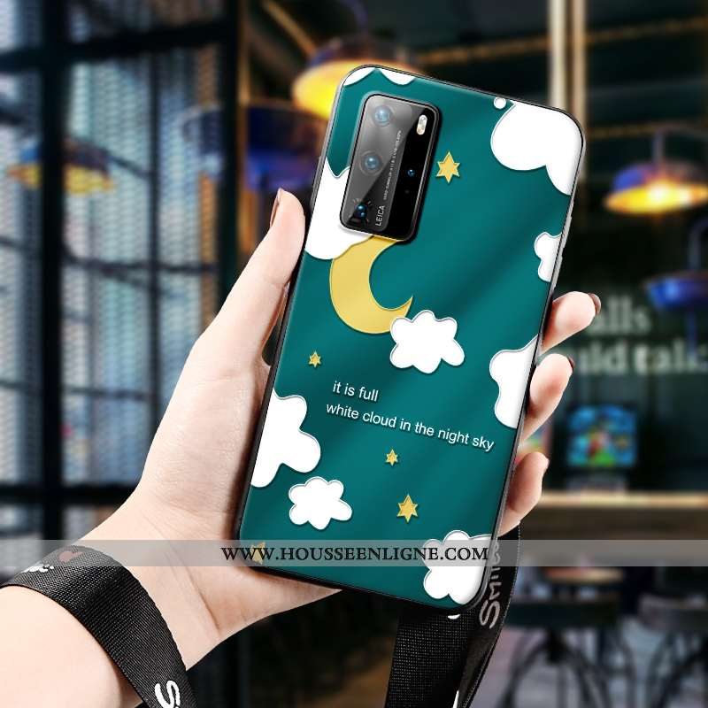 Étui Huawei P40 Pro Silicone Protection Téléphone Portable Incassable Tout Compris Créatif Dimension
