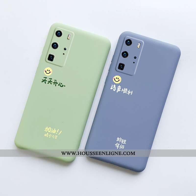 Étui Huawei P40 Pro Tendance Légère Créatif Protection Ultra Téléphone Portable Tout Compris Verte