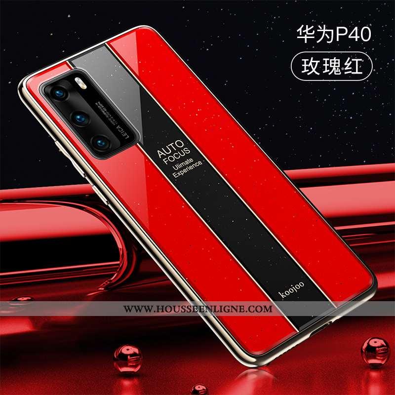 Étui Huawei P40 Ultra Tendance Tout Compris Créatif Rouge Légère Téléphone Portable