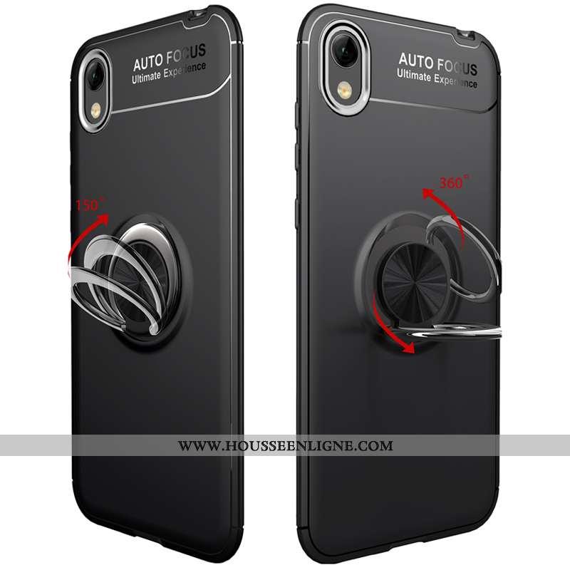 Étui Huawei Y5 2020 Protection Fluide Doux Coque En Silicone Téléphone Portable 2020 Noir