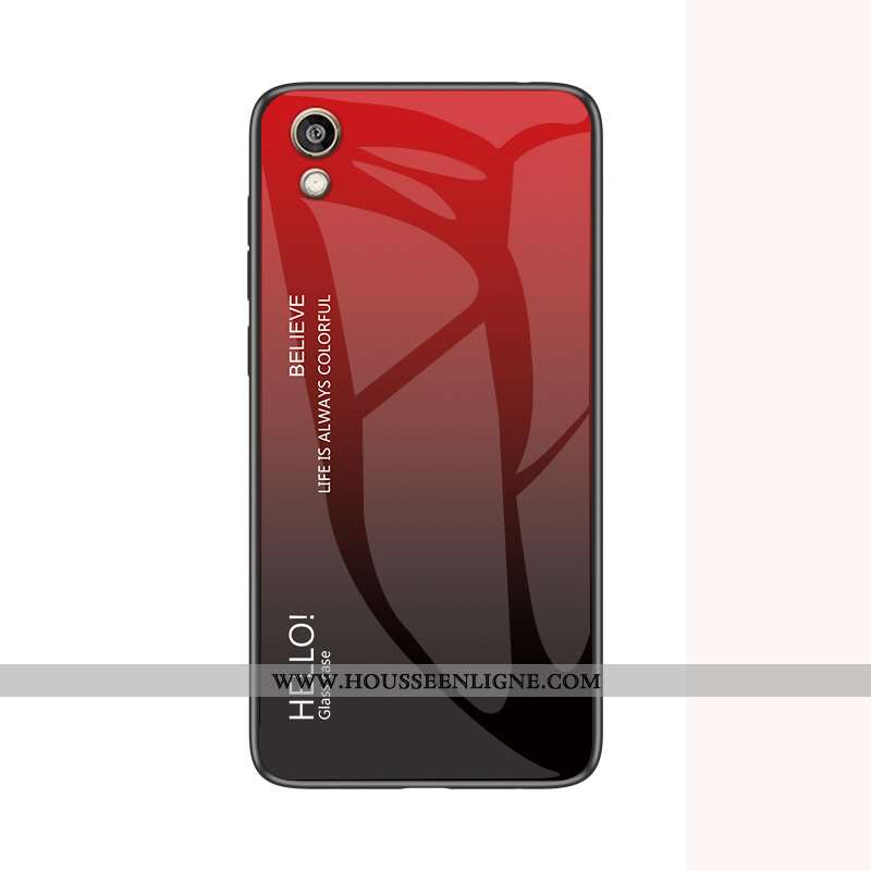 Étui Huawei Y5 2020 Silicone Protection Coque Fluide Doux Téléphone Portable Vin Rouge Bordeaux