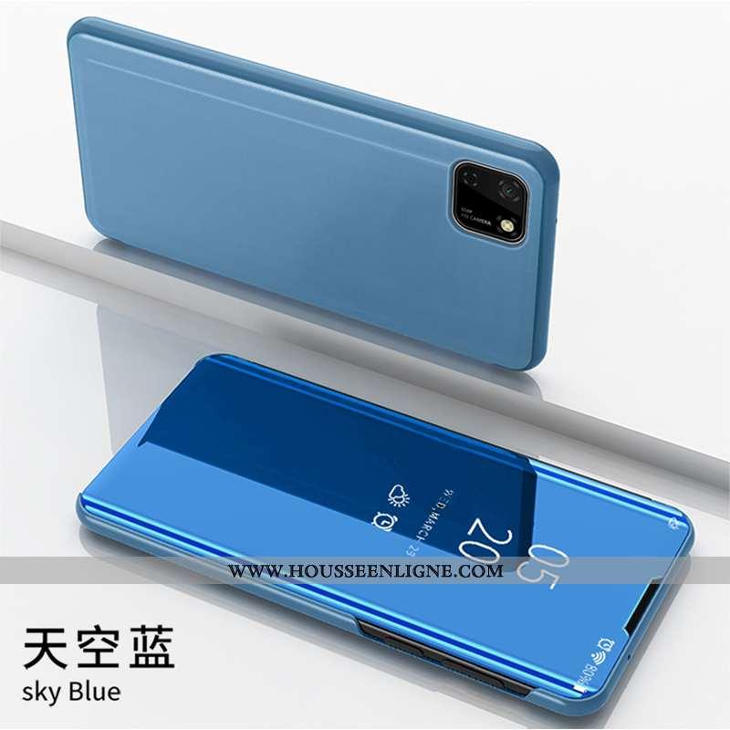 Étui Huawei Y5p Protection Tout Compris Coque Housse Business Téléphone Portable Bleu