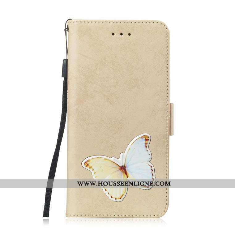 Étui Huawei Y6 2020 Charmant Cuir Housse Téléphone Portable 2020 Coque Jaune