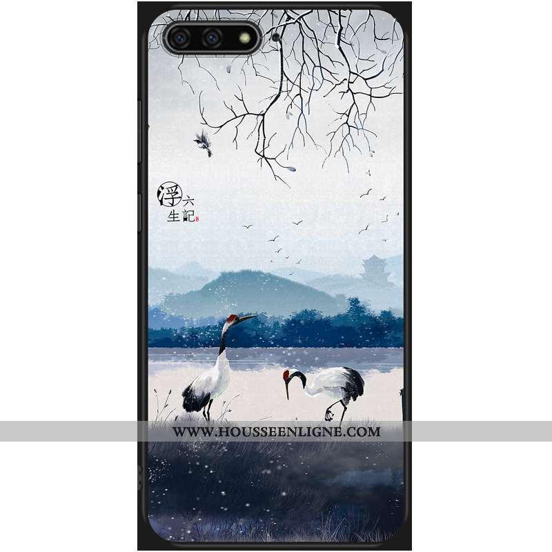 Étui Huawei Y6 2020 Ornements Suspendus Dessin Animé 2020 Protection Téléphone Portable Tendance Ble
