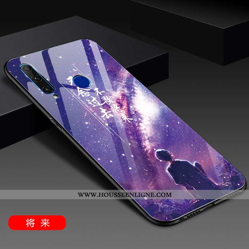 Étui Huawei Y6p Ultra Tendance Téléphone Portable Coque Légère Protection Tout Compris Violet