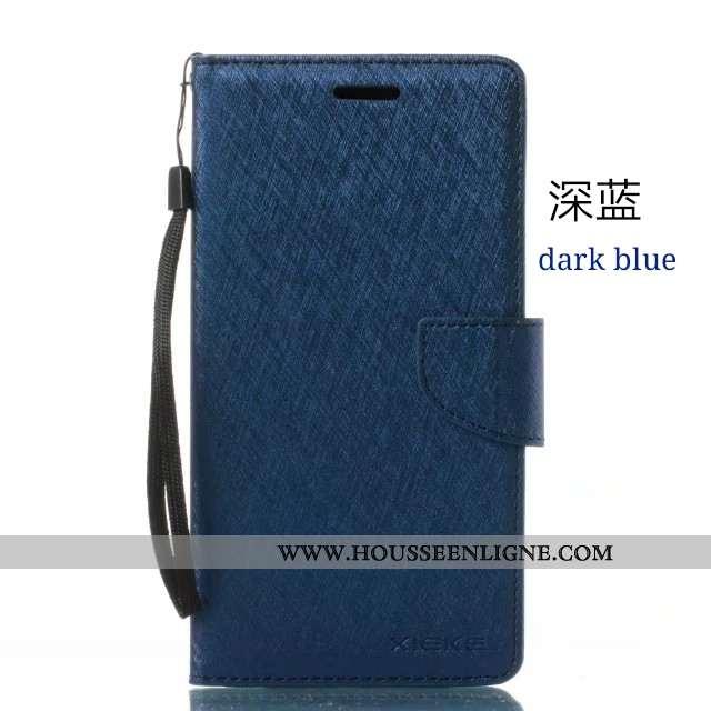 Étui Huawei Y6s Portefeuille Housse Coque Téléphone Portable Bleu Marin 2020 Bleu Foncé